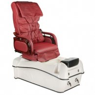 Fotel Pedicure SPA BW-903B Bordowy