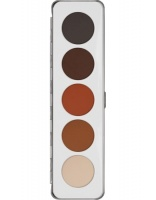 KRYOLAN-EYE SHADOW / PALETA 5 KOL CIENI DO POWIEK SHADING