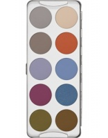 KRYOLAN-EYE SHADOW / PALETA 10 KOL CIENI DO POWIEK FASHION