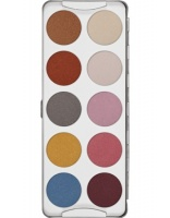 KRYOLAN-EYE SHADOW / PALETA 10 KOL CIENI DO POWIEK IRIDESCENT