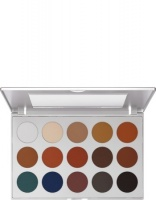 KRYOLAN-EYE SHADOW / PALETA 15 KOL CIENI DO POWIEK  TN 1