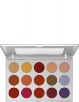 KRYOLAN-EYE SHADOW / PALETA 15 KOL CIENI DO POWIEK  TN 2