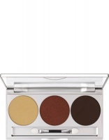 KRYOLAN-EYE SHADOW - SMOKEY COLLECTION / PALETA 3 KOL CIENI DO POWIEK SMOKEY BROWN