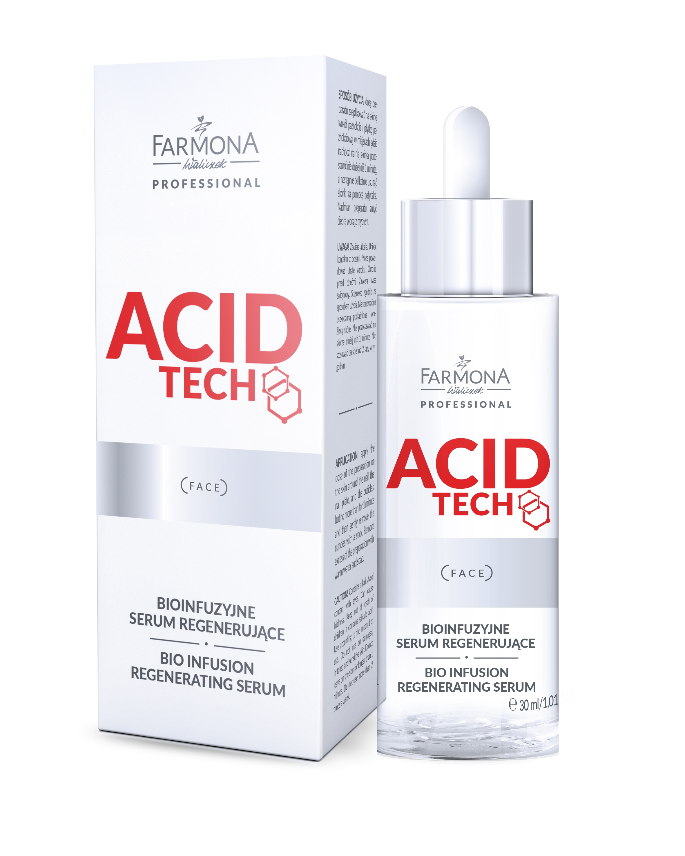 Farmona - Acid Tech - Bioinfuzyjne serum regenerujące 30 ml