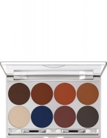 KRYOLAN-EYE SHADOW / PALETA 8 KOL CIENI DO POWIEK  SHADING