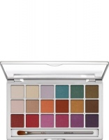 KRYOLAN-EYE SHADOW VARIETY / PALETA 18 KOL CIENI DO POWIEK  V 1