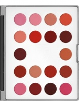 KRYOLAN-LIP ROUGE MINI-PALETTE 18 COLORS / SZMINKI DO UST / LC