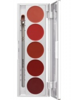 KRYOLAN-LIP ROUGE SET 5 COLORS / SZMINKI DO UST / ECHO
