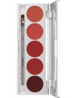 KRYOLAN-LIP ROUGE SET 5 COLORS / SZMINKI DO UST / LRS 101