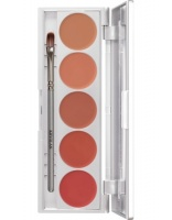 KRYOLAN-LIP ROUGE SET 5 COLORS / SZMINKI DO UST / NUDE