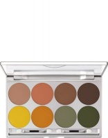 KRYOLAN-VIVA MATT COLOR PALETTE 8 COLORS / CIENIE DO POWIEK SUN 2